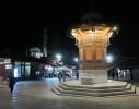 Sarajevo v noci - foto Vlatka Daněk